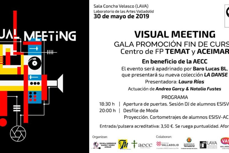 Visual Meeting, gala benéfica contra el cáncer