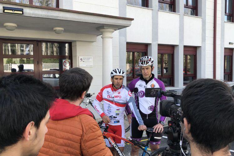 ACEIMAR se une a los Retos Solidarios de los ciclistas vallisoletanos Guillermo Prieto y Agustín Álvarez